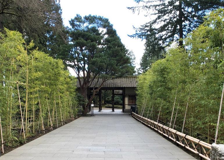 포틀랜드 일본 정원 Portland Japanese Garden