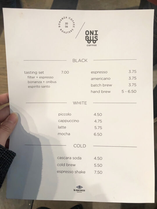 La Marzocco Cafe 라마르조코 시애틀 맛집